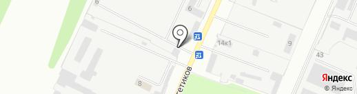 Новгородский таможенный пост на карте Великого Новгорода