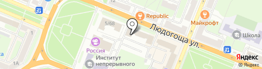 Велес на карте Великого Новгорода