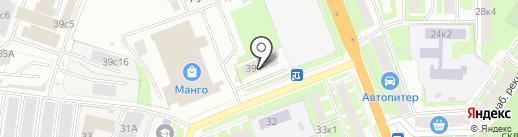 Центральная диспетчерская служба общественного транспорта, ГОУ на карте Великого Новгорода