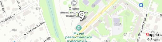 Трикотажно-швейная мастерская на карте Великого Новгорода