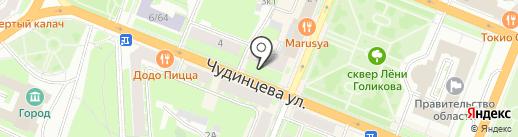Господин Гобелен на карте Великого Новгорода