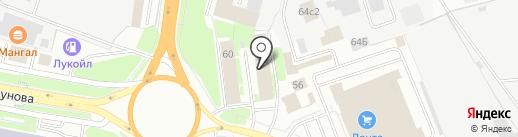 ИФНС на карте Великого Новгорода