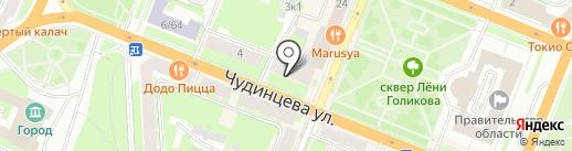 Мастерская по ремонту игрушек на карте Великого Новгорода