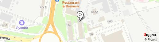 Центр налоговых консультаций, НП на карте Великого Новгорода