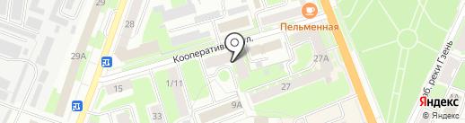 Эксперт-Аудит на карте Великого Новгорода