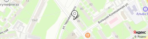 ПивоваровЪ на карте Великого Новгорода