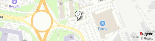 Печной центр на карте Великого Новгорода