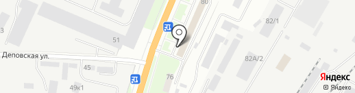 Электра-Н на карте Великого Новгорода