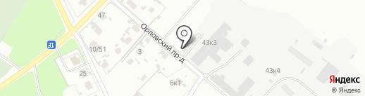 Люкс строй на карте Великого Новгорода