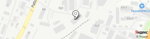 РАТЭК на карте Великого Новгорода