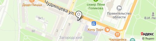 Русская бронза на карте Великого Новгорода