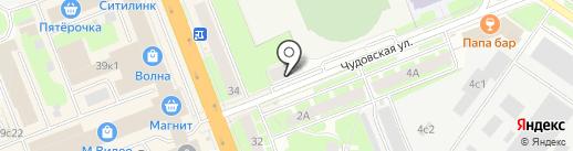 НовТехника на карте Великого Новгорода