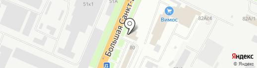 Магазин автозапчастей на карте Великого Новгорода