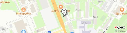 Почтовое отделение №3 на карте Великого Новгорода