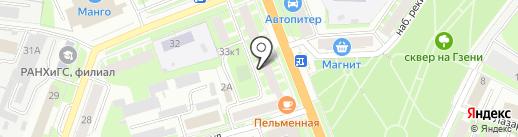 Управляющая компания №10/1 на карте Великого Новгорода
