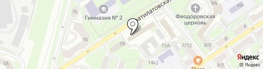 ГАЗ Проект Монтаж на карте Великого Новгорода
