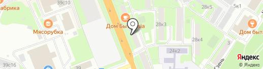 LAF24 на карте Великого Новгорода