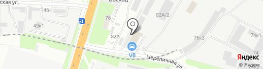 Анфас на карте Великого Новгорода