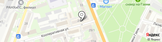 Хаси на карте Великого Новгорода