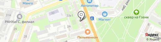Управляющая компания №15 на карте Великого Новгорода