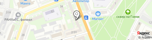 Profi Credit на карте Великого Новгорода