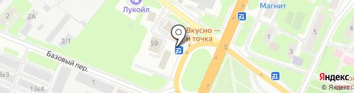Киоск по продаже проездных билетов на карте Великого Новгорода