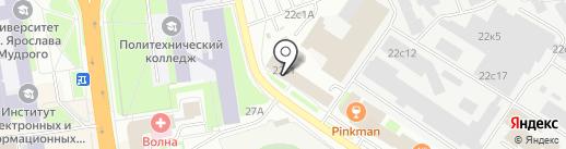 Энергоплюс на карте Великого Новгорода