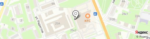 Энергия жизни на карте Великого Новгорода
