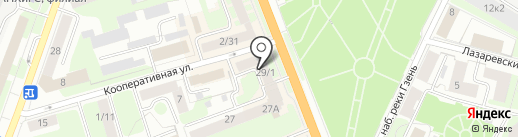 Зебра-Принт на карте Великого Новгорода