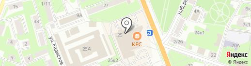 Rибус на карте Великого Новгорода