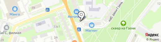 Нотариус Кульба Е.В. на карте Великого Новгорода