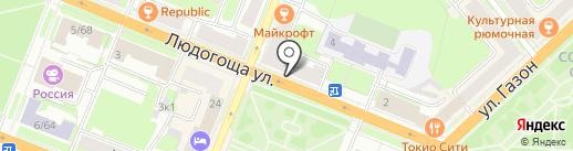 СОГАЗ на карте Великого Новгорода