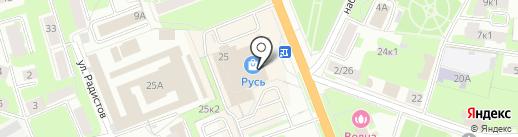 iNOT на карте Великого Новгорода