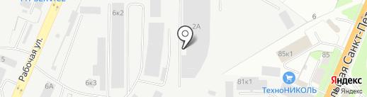 Карат на карте Великого Новгорода