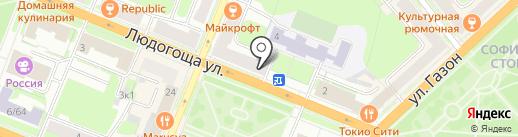 Индийская лавка на карте Великого Новгорода