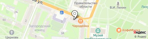 Qiwi на карте Великого Новгорода