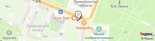 Yves Rocher на карте Великого Новгорода