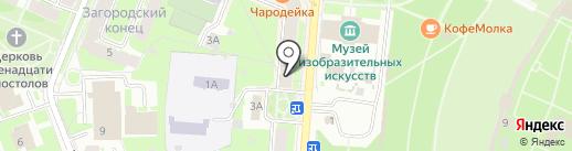 папироска.рф на карте Великого Новгорода