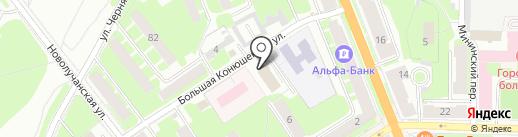 Компания независимой экспертизы на карте Великого Новгорода