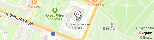Управление по международным связям на карте Великого Новгорода