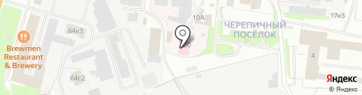 Новгородское спецавтохозяйство, ЗАО на карте Великого Новгорода