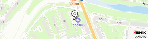 Тепловая Компания Новгородская на карте Великого Новгорода