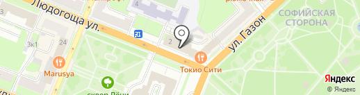 OZON.ru на карте Великого Новгорода