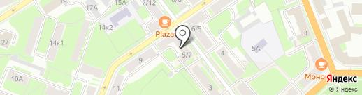 ХУДЕЙ ПРОСТО на карте Великого Новгорода