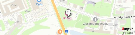 Сигма на карте Великого Новгорода
