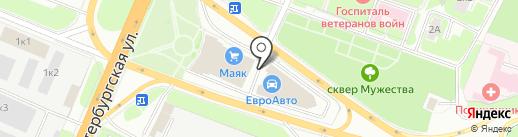 Vianor на карте Великого Новгорода
