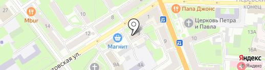 Информационно-аналитический центр по ЖКХ на карте Великого Новгорода