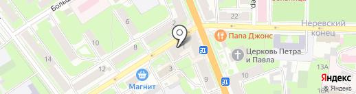 Coffis to go на карте Великого Новгорода