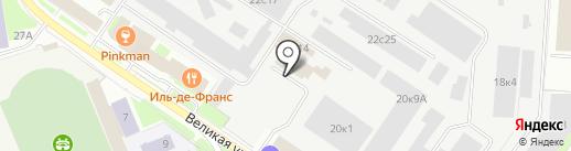 ПРОИЗВОДСТВЕННО-КОММЕРЧЕСКАЯ ОРГАНИЗАЦИЯ на карте Великого Новгорода