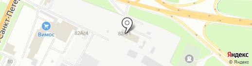 Солис на карте Великого Новгорода